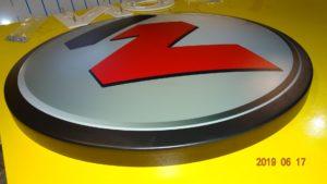 Litery i logo 3D bez podświetlenia: Elementy termoformowane