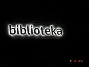 Reklama świetlna – Litery i logo 3D podświetlane LED: Biblioteka